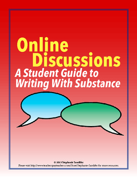 Online Discussions - A Student Guide to Writing With Substance