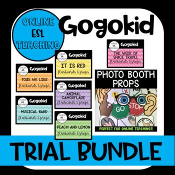 Online ESL Gogokid Trial Bundle - Includes Photo Booth Props!