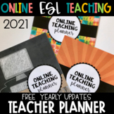 Planner | Editable Binder Covers and Spines | Online Teaching