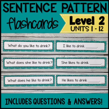 Online ESL Teaching Sentence Patterns (INTERACTIVE - VipKid Level 2)