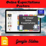 Online Expectations Posters (Google Slides)