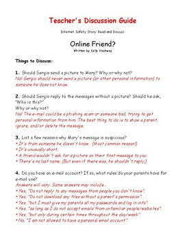Online Friend? (A Cyberbullying Activity)