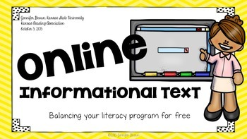 Common Core & Balanced Literacy: A Resource Guide to Online Informational Text
