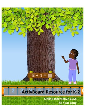 CCSS All Year Long: Online Interactive: K-2