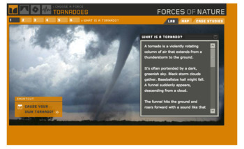 Online Interactive for Earthquakes,Tornadoes, Hurricane, and Volcanoes