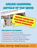 Online Learning: Article of the Week