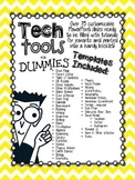 Online Learning Tools for Dummies {A Customizable Booklet for Parents}