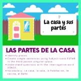Online Lesson: Las partes de la casa/House parts in Spanish