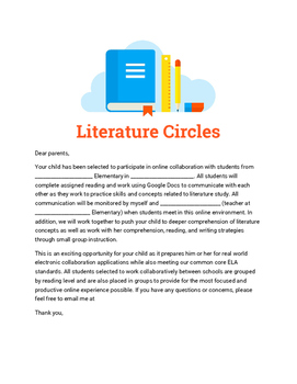 Online Literature Circles Using Google Drive