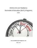 Online & Low Residency Doctorate of Education Programs in