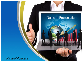 Online Marketing PPT Template