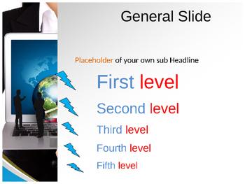Online Marketing PPT Template (Online Marketing PPT Presentation)