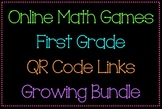 Online Math Games with QR Codes