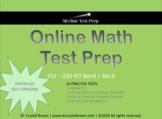 Online Math Test Prep for RIT Band 211 - 220 Set A