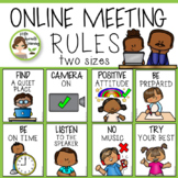 Online Meeting Rules (Distance Learning)