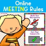 Online Learning Rules (Online Learning Expectations & Etiq