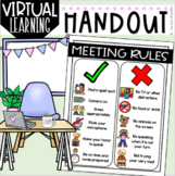 Online Meeting Rules for Virtual Distance Learning Zoom Go
