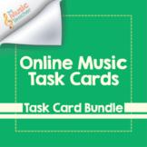 Online Music Task Cards | Task Card Bundle [Distance Learning]