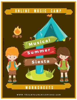 Online Musical Summer Siesta Camp Workbook