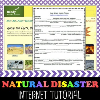 Natural Disaster Online Tutorial