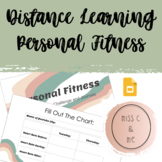 Online Phys Ed Gym Personal Fitness Unit Distance Learning Workouts