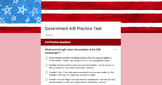 American Government AIR Test (Ohio) Review - Online Practice Test