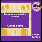 Speaking & Listening Research Projects - Online VCAL RESOURCES