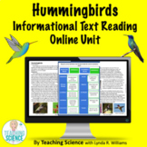 Online Reading Unit on Hummingbirds