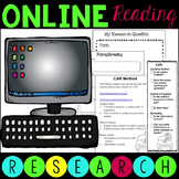 Distance Learning Online Research - Informational and Argumentative Writing