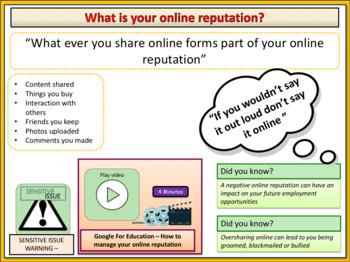 Online Reputation and Digital Footprints