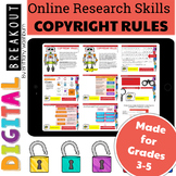 Online Research Skills Digital Breakout: Copyright Rules