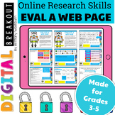 Online Research Skills Digital Breakout: Evaluate a Web Page