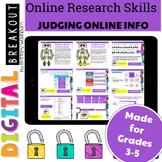 Online Research Skills Digital Breakout: Judging Online Information