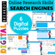 Online Research Skills Digital Breakout: Search Engines