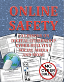 Online Safety, Digital Citizenship, Cyber Bullying and Surfing Safe Workbook
