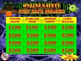Online Safety Game:  Be Safe on the Internet and Stop Cyberbullying
