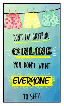 Online Safety Poster
