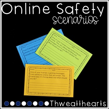 Online Safety Scenarios with Personal Opinion Writing Prompts