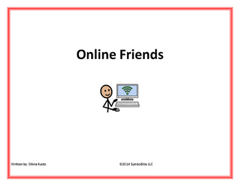 Online Safety Social Story- For Special Education and Autism