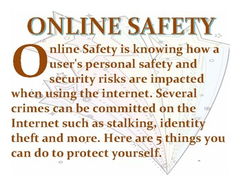 Online Safety Word Wall