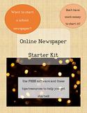 Online School Newspaper Starter Kit