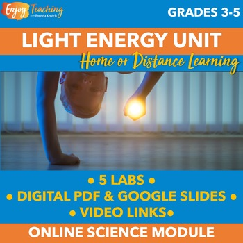 Distance Learning Science Activities - Light Energy Experiments & Videos