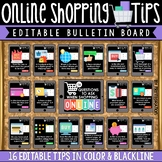 Online Shopping Tips & Evaluating eCommerce Digital Citizenship Bulletin Board