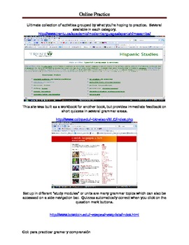 Online Sites to Practice Spanish
