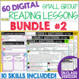 Online Small Group Reading Lessons: BUNDLE #2 - Differentiated!
