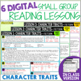 Online & In Class Small Group Reading Lessons:CHARACTER TR