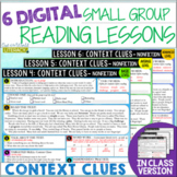 Online & In Class Small Group Reading Lessons: CONTEXT CLU