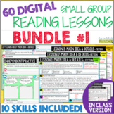 Online Small Group Reading Lessons: BUNDLE #1 - Differentiated!