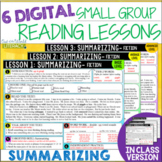 Online Small Group Reading Lessons: SUMMARIZING - Differentiated!