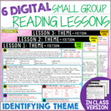 Online & In Class Small Group Reading Lessons: THEME - Dif